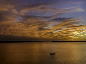 Clear Lake Sailboat